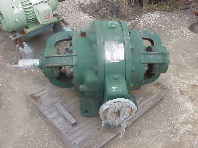NASH vacuum compressor.  Size 1251C, test# 78U1034, 1770 RPM, 3
