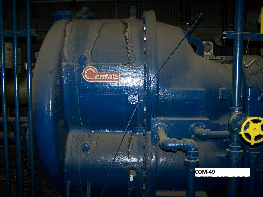 LIQUIDATION* Ingersoll-Rand Start-up compressor, type Centac model C35,800Hp motor.