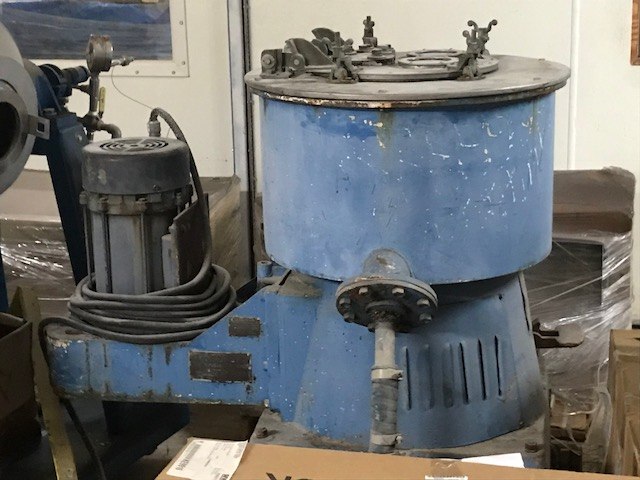 ***SOLD*** used Tolhurst Basket Centrifuge. 20