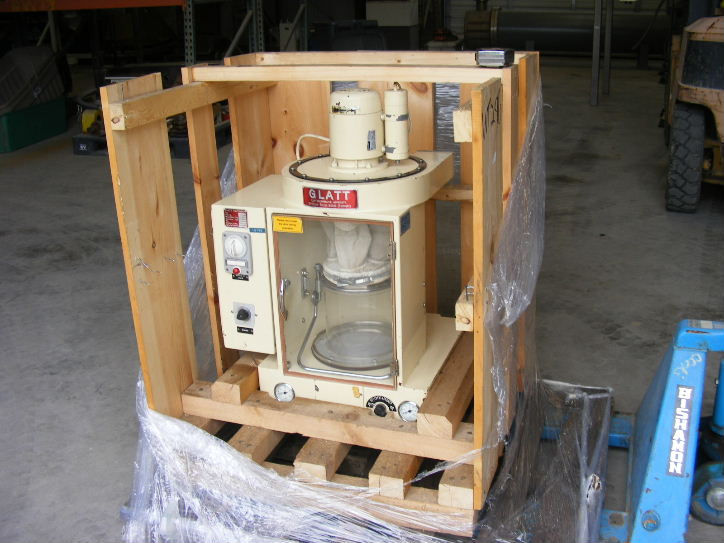 Used, Glatt Laboratory Fluid Bed Dryer, Model TR2. 7-1/2