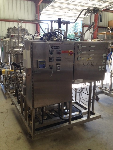 Used Sweco PharmASep Vibro-Energy Filter Dryer, Model PH46Y30, 316L Stainless Steel. Sanitary design rated 0-2 bar (0-30 psi), vacuum -1 bar (-15 psi). Batch processing capacity solids up to 25kg (55 pounds). Above 30