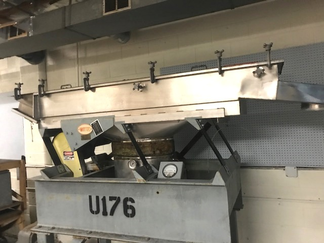 used Witte Fluid Bed Dryer. Stainless Steel. Approx. 20
