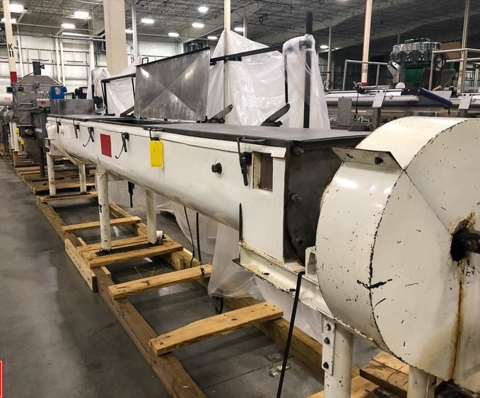 used Holoflight/Thermal Dryer/cooker with Heated trough and shaft. 16
