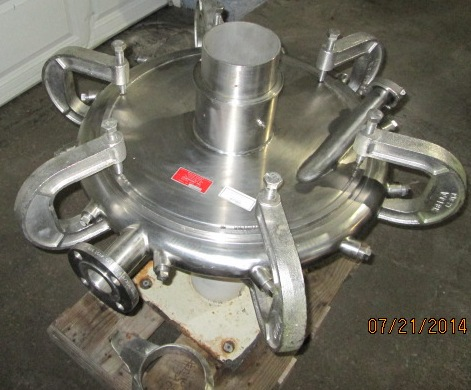 Used Sturtevant Micronizer Jet Mill. Model: 20\