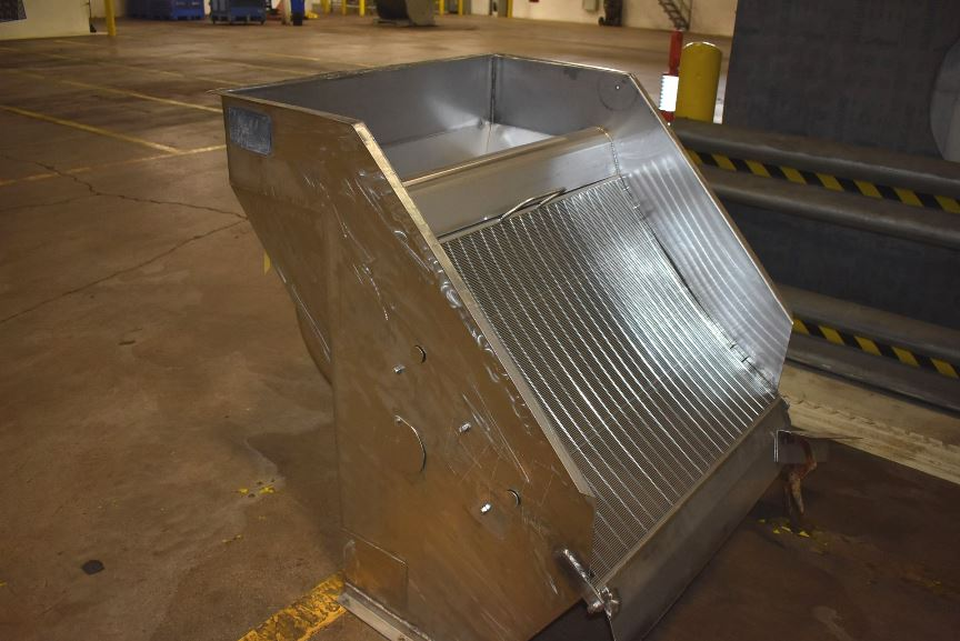 Lyco Inclined De-watering/Wash down Screen. Hydro-sieve. 36