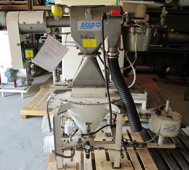 used Sweco Rotary/Centrifugal Sifter model K300C.  Screen is approx. 5