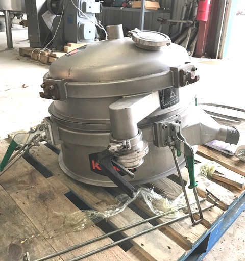 Item Sold Used 24 Quot Kason Model K24 1ss Screener