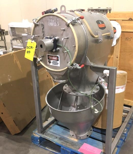 ***SOLD*** Kason Rotary Sifter Model MO-SS, Centri-Sifter. Housing is approx. 17