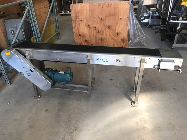 used Arrowhead Belt Conveyor.  8