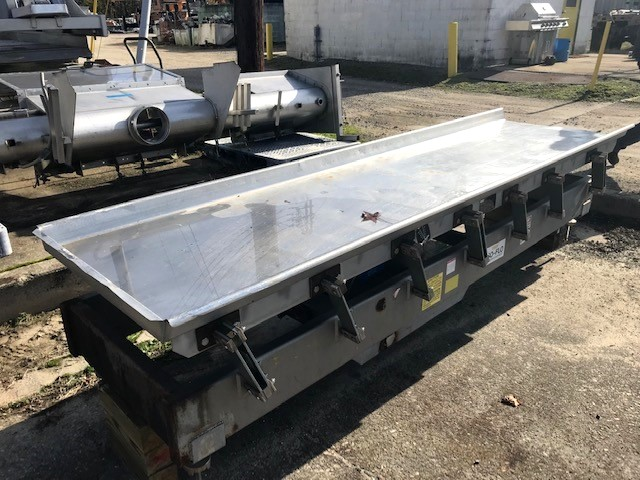 used Key IsoFlo Vibrating Conveyor/Feeder. Sanitary feeder. 30