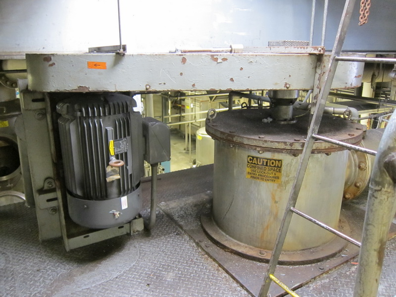 used approx. 35 Sq.Ft Wiped Film Evaporator (WFE)